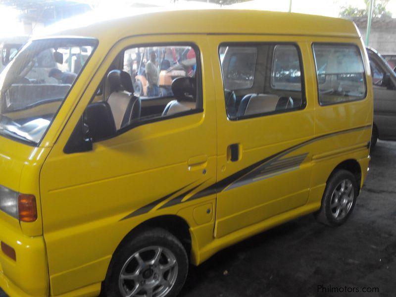 Suzuki Multicab Scrum Mini Van In Philippines
