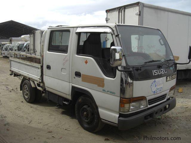 Used Isuzu Elf Double Cab 4HF1-Engine   1997 Elf Double ...