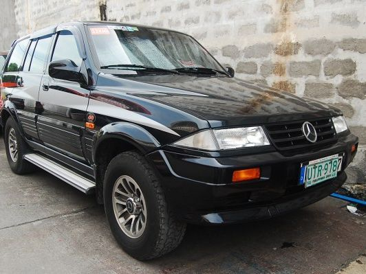 Used mercedes benz musso 1997 musso for sale las pinas for Mercedes benz philippines