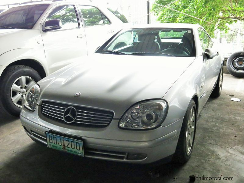 Used mercedes benz slk 230 1997 slk 230 for sale for Mercedes benz price philippines