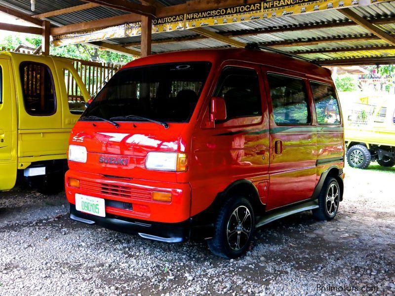 Suzuki Carry Van Modified