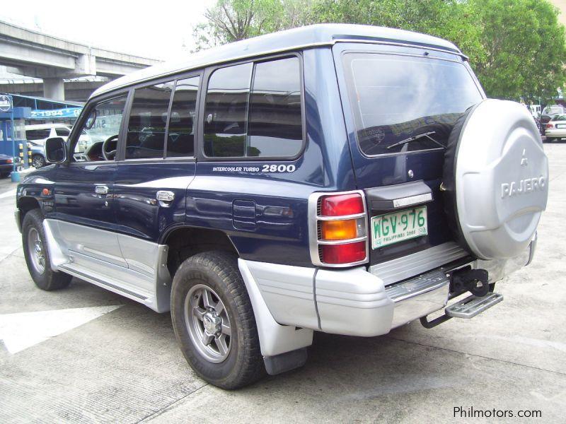 Used Mitsubishi Pajero Fieldmaster 4x4 1999 Pajero