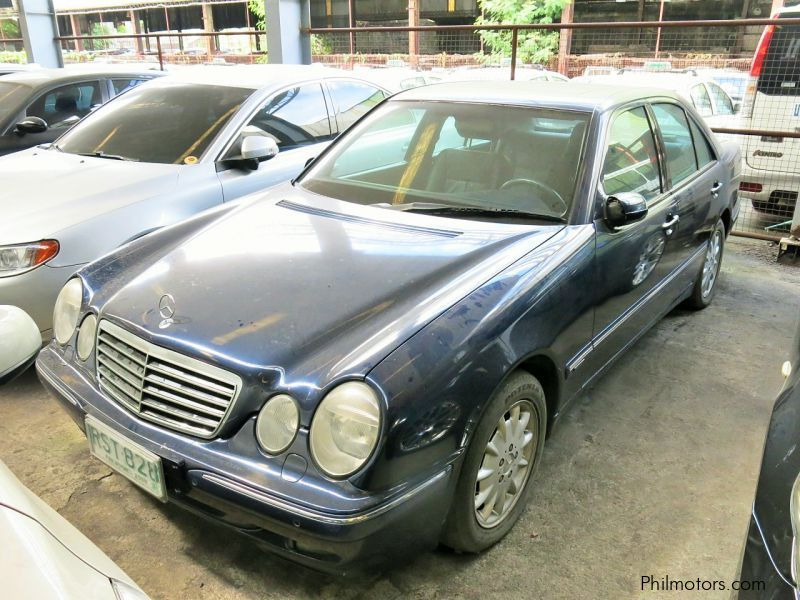 Used mercedes benz e240 2000 e240 for sale quezon city for Mercedes benz philippines