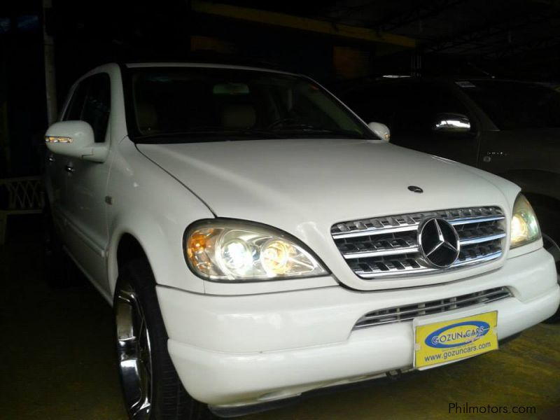 Used mercedes benz ml320 2000 ml320 for sale pampanga for Used mercedes benz ml320