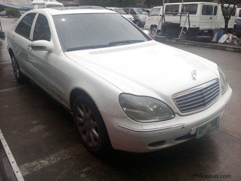 Used mercedes benz 320 s 2001 320 s for sale paranaque for Mercedes benz philippines