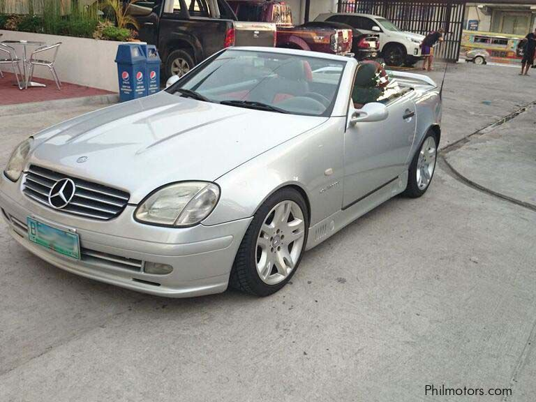 Used mercedes benz slk 230 2001 slk 230 for sale cebu for Mercedes benz price philippines
