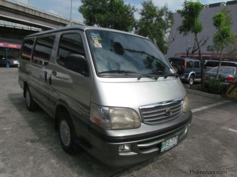 Used toyota hiace 2001 hiace for sale paranaque city