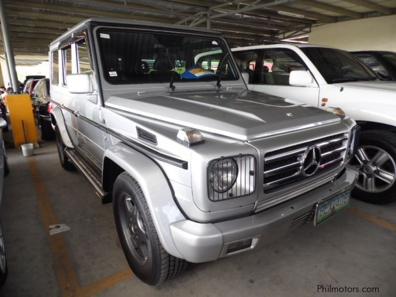 Used mercedes benz g55 2002 g55 for sale muntinlupa for Mercedes benz philippines