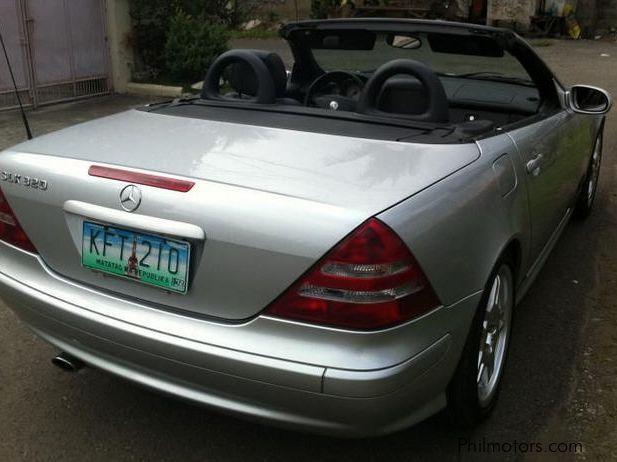 Used Mercedes Benz Slk 320 2002 Slk 320 For Sale Cebu