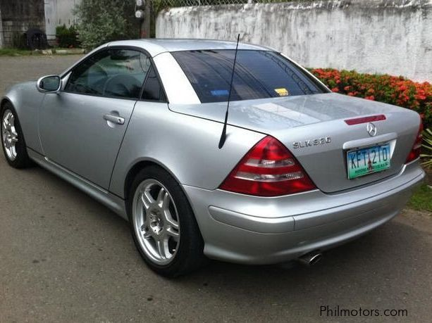 Used Mercedes Benz Slk 320 2002 Slk 320 For Sale Cebu