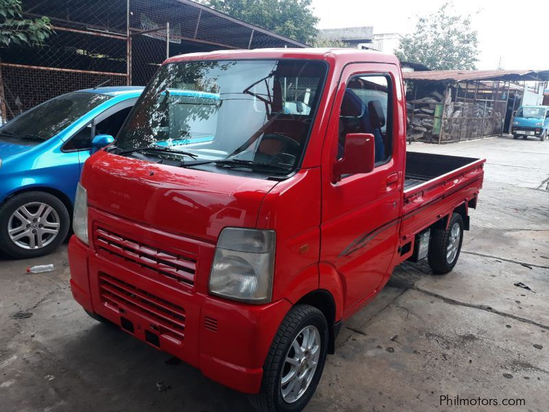 Suzuki Multicab Square Eye Transformer Pick Up 4x4 MT Red in Philippines