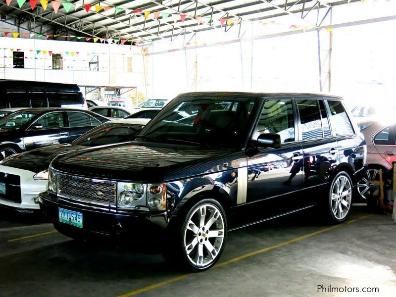 used land rover range rover 2003 range rover for sale pasig city land rover range rover. Black Bedroom Furniture Sets. Home Design Ideas