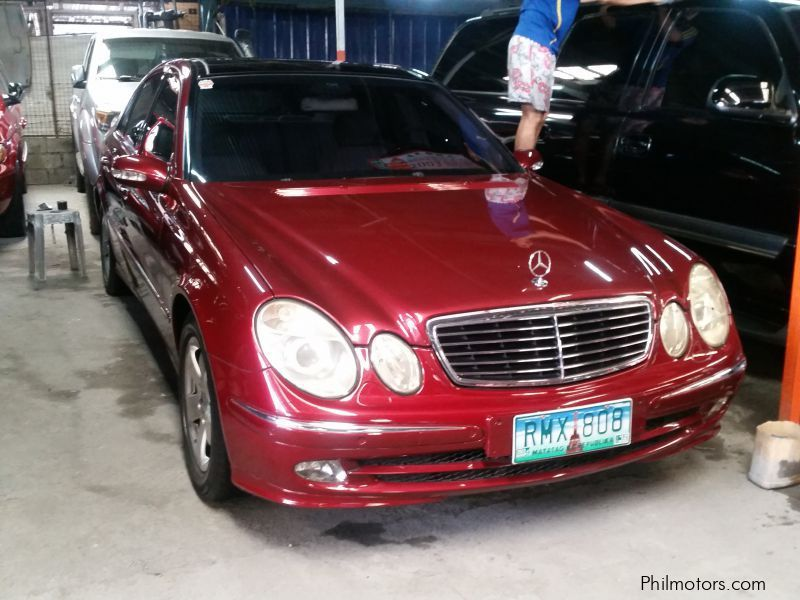 Mercedes-Benz E240 in Philippines