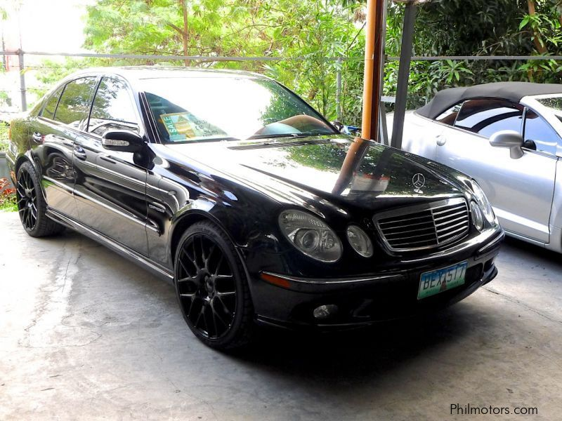 used mercedes benz e55 amg kompressor 2003 e55 amg kompressor for sale pasig city mercedes. Black Bedroom Furniture Sets. Home Design Ideas