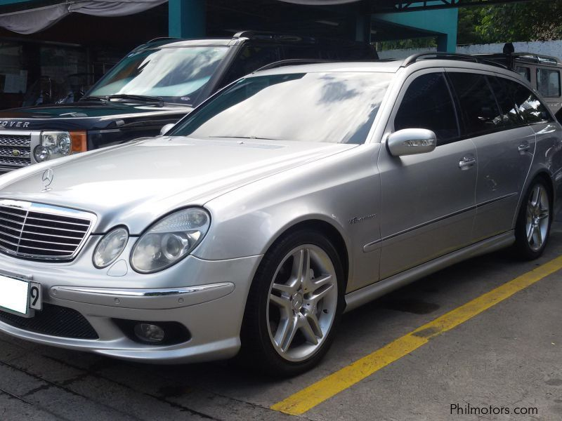 used mercedes benz e55 amg wagon 2003 e55 amg wagon for sale paranaque city mercedes benz. Black Bedroom Furniture Sets. Home Design Ideas