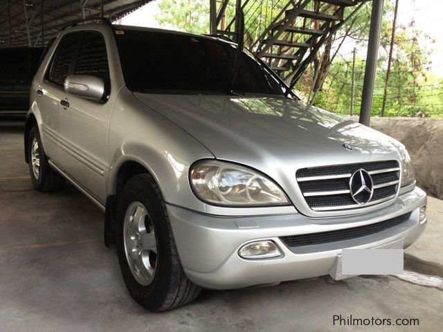 Used mercedes benz ml 270 2003 ml 270 for sale manila for Mercedes benz price philippines