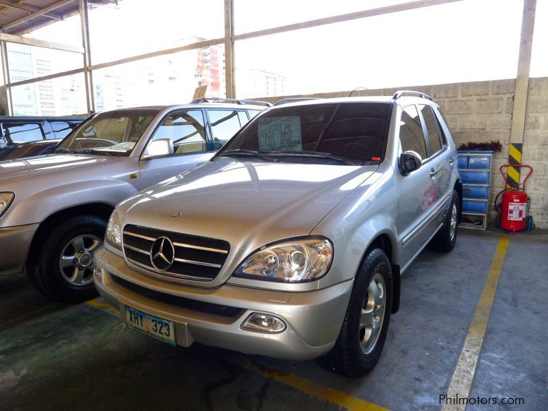 Used mercedes benz ml 270 2003 ml 270 for sale pasig for Mercedes benz price philippines
