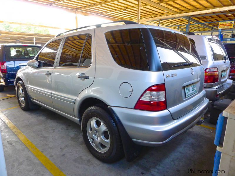 Used mercedes benz ml 270 2003 ml 270 for sale pasig for Mercedes benz ml used
