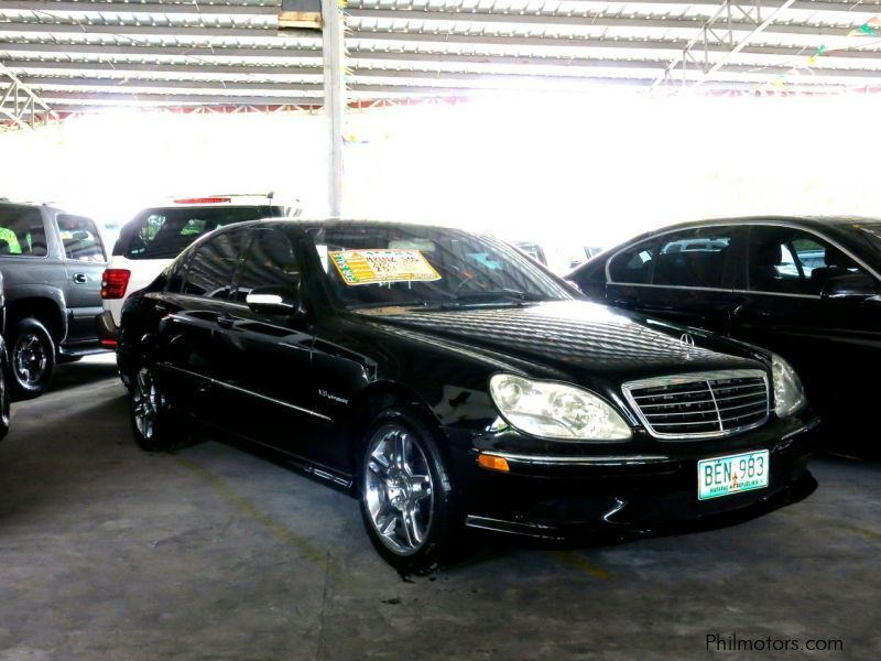 Used mercedes benz s55 amg 2003 s55 amg for sale pasig for Mercedes benz s55
