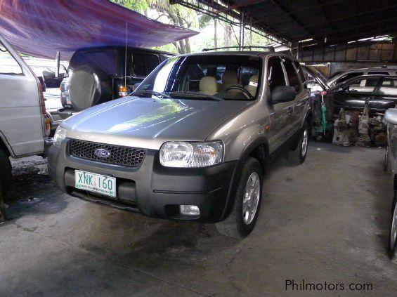2004 ford escape manual transmission