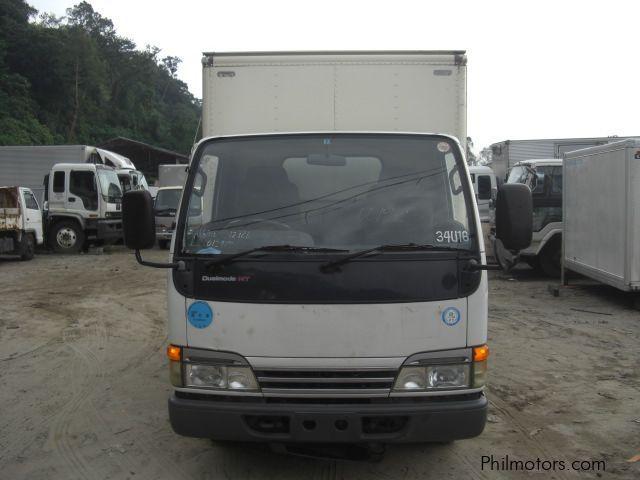 Used Isuzu Elf Closed Van, 10 Feet 4HG1-Engine | 2004 Elf