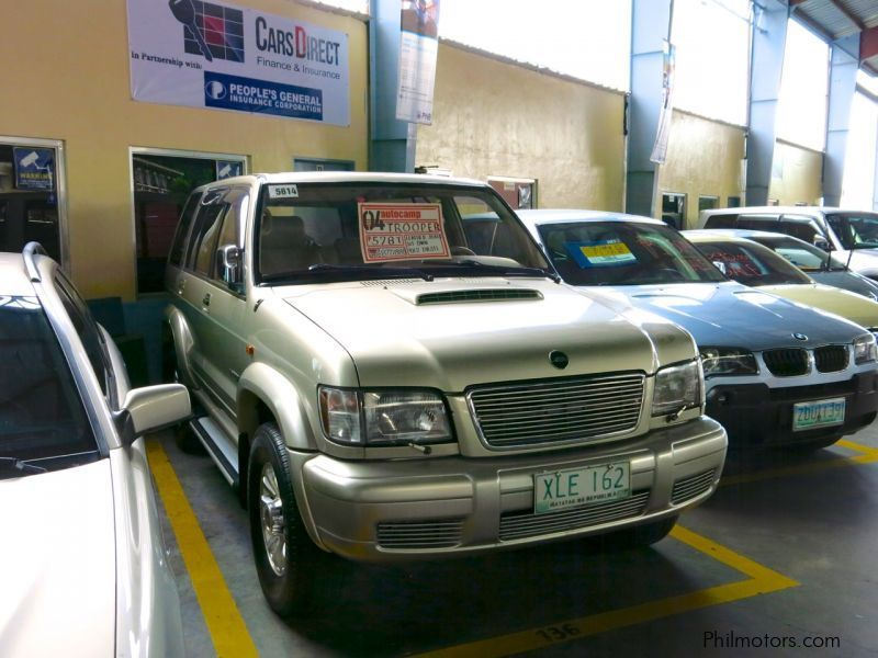 Used Isuzu Trooper   2004 Trooper for sale   Pasig City ...