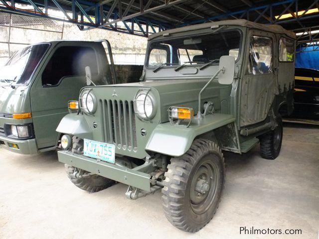 Military Jeeps For Sale >> Used Mitsubishi Military Jeep 2004 Military Jeep For Sale