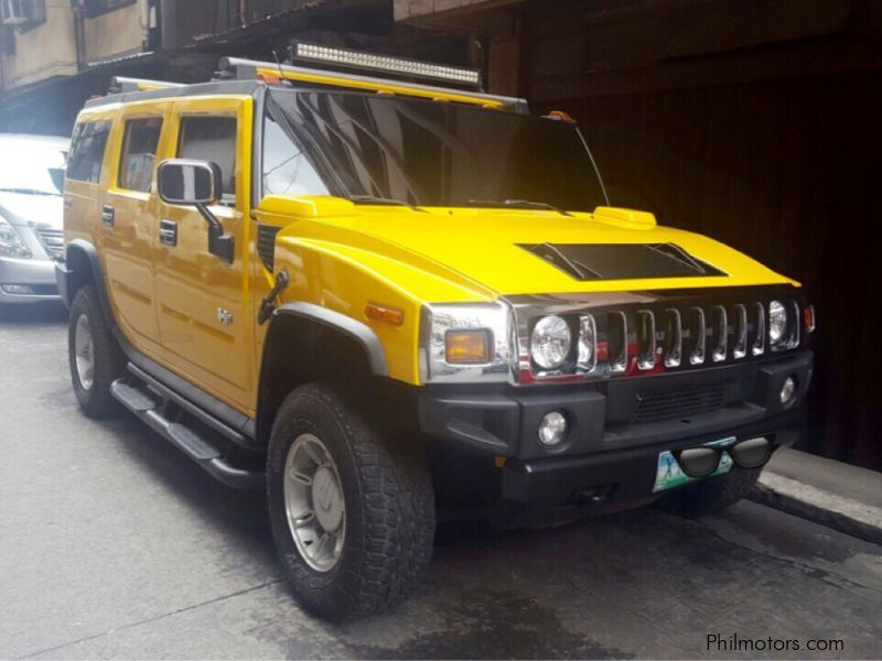Used Hummer H2 2005 H2 For Sale Quezon City Hummer H2