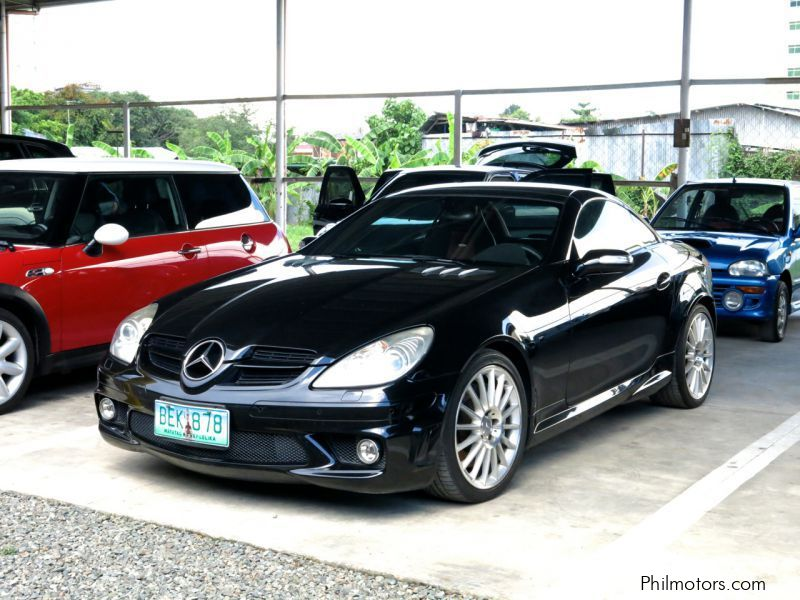 used mercedes benz slk 55 amg 2005 slk 55 amg for sale. Black Bedroom Furniture Sets. Home Design Ideas