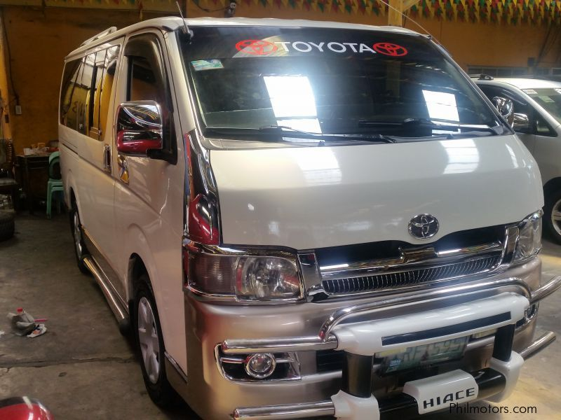 Used Toyota Hiace commuter | 2005 Hiace commuter for sale | Quezon ...