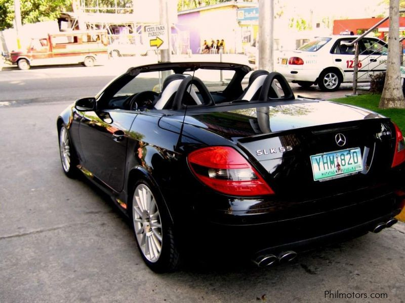 used mercedes benz slk 55 amg 2006 slk 55 amg for sale. Black Bedroom Furniture Sets. Home Design Ideas