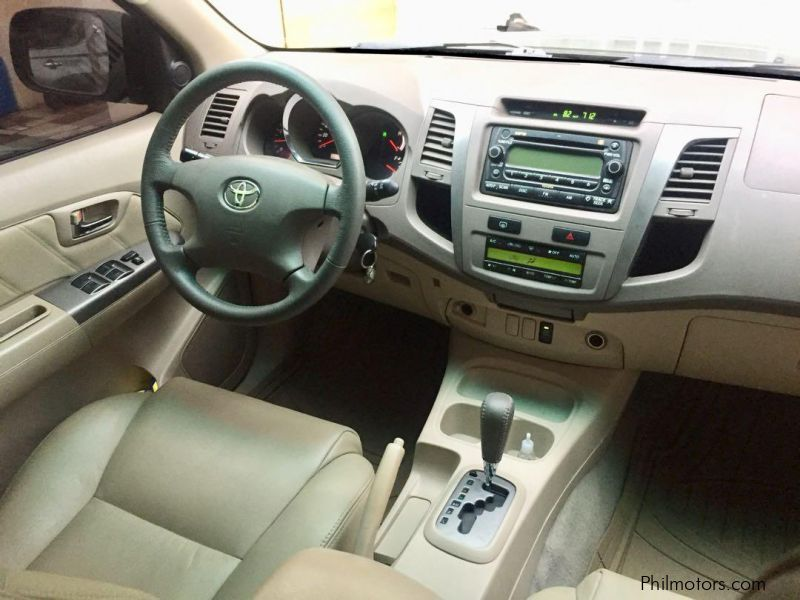 Toyota Fortuner 2.5G Diesel Automatic in Philippines