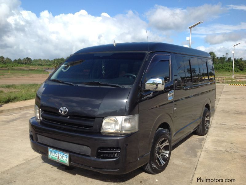 Used Toyota Hi-Ace   2006 Hi-Ace for sale   Quezon Toyota ...