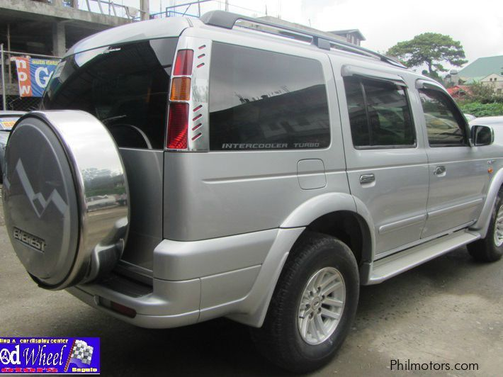 ford  ford everest manual    ford