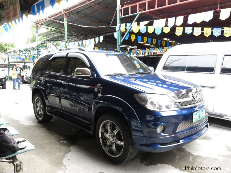 Used Toyota Fortuner 2007 Fortuner For Sale Antipolo City Toyota Fortuner Sales Toyota