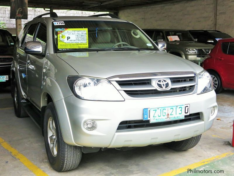 Used Toyota Fortuner G VVTi