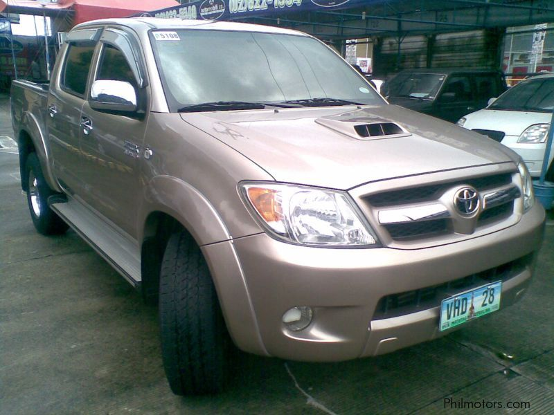 used toyota hilux g 4x4 pick up 2007 hilux g 4x4 pick up for sale paranaque city toyota. Black Bedroom Furniture Sets. Home Design Ideas