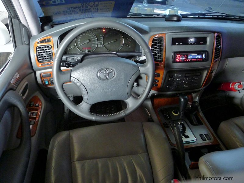 Used Toyota Land Cruiser Lc100 2007 Land Cruiser Lc100