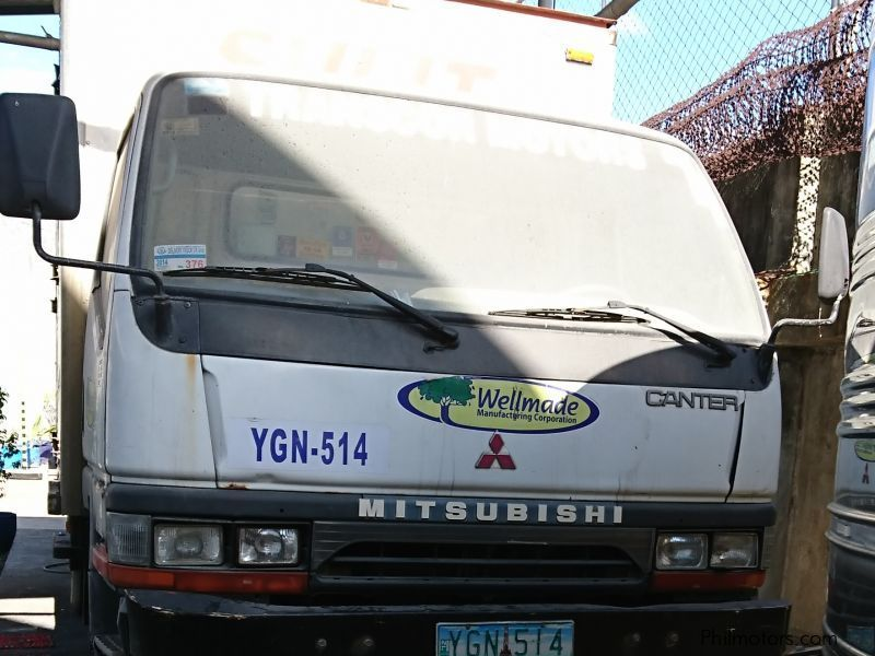 Mitsubishi Canter Aluminum Van in Philippines