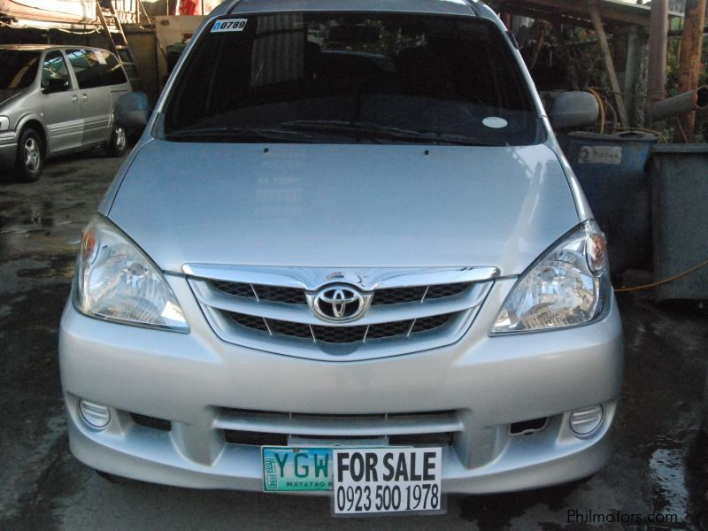 Used Toyota Avanza | 2008 Avanza for sale | Cebu Toyota ...