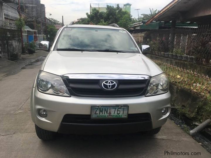 Used Toyota Fortuner G 2008 Fortuner G For Sale Quezon