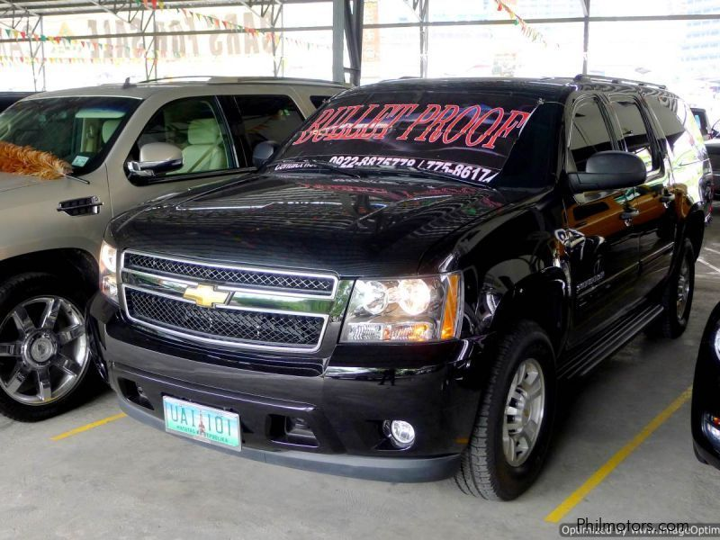 Chevrolet Suburban Bullet-proof in Philippines