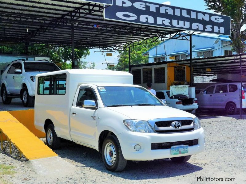 Used Toyota Hilux Fx 2010 Hilux Fx For Sale Pampanga Toyota