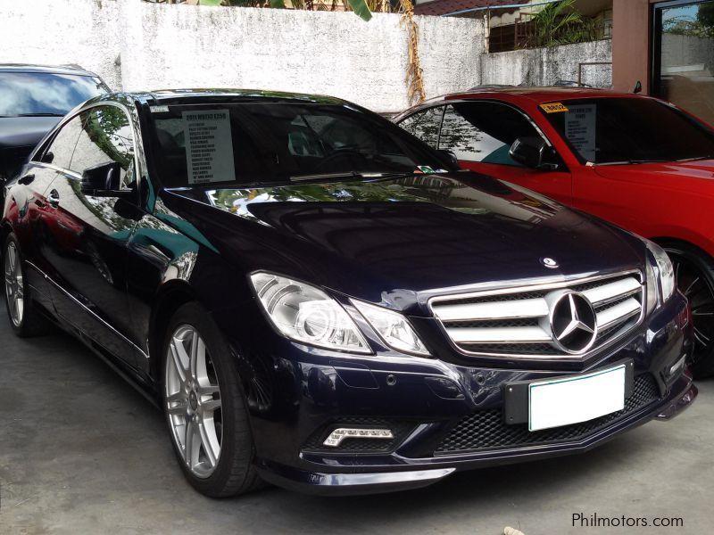 Used Mercedes Benz E350 2011 E350 For Sale Paranaque
