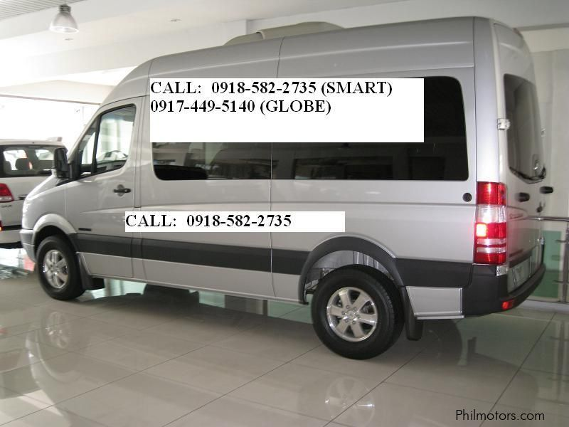 New mercedes benz sprinter van 2011 sprinter van for for Mercedes benz sprinter price philippines