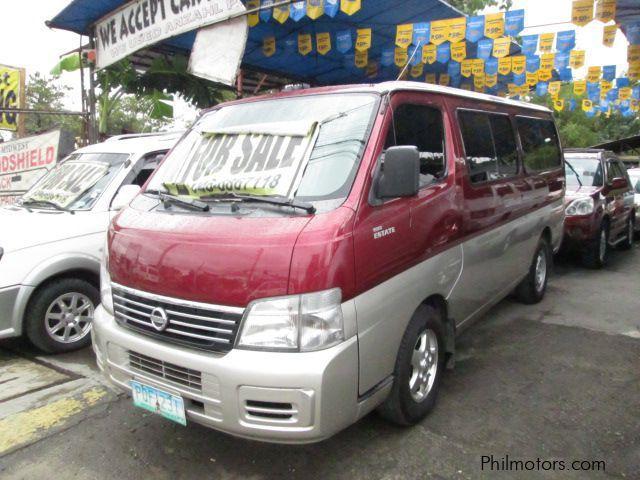 Used Nissan Estate Urvan VX | 2011 Estate Urvan VX for sale | Cavite ...