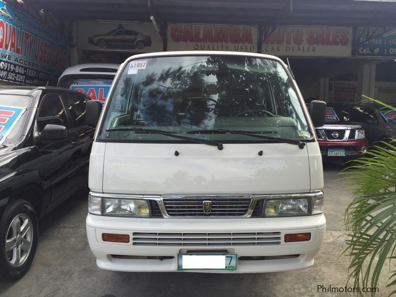 Used Nissan Urvan VX | 2011 Urvan VX for sale | Muntinlupa ...