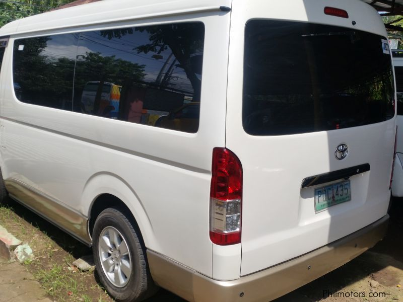 Toyota hI ACE gl in Philippines