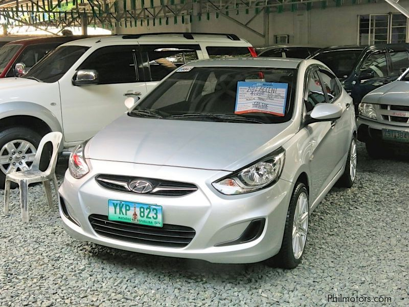 Used Hyundai Accent 2012 Accent For Sale Pasay City
