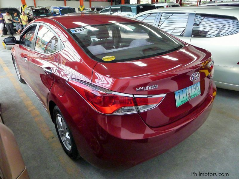 Used Hyundai Elantra 2012 Elantra For Sale Quezon City